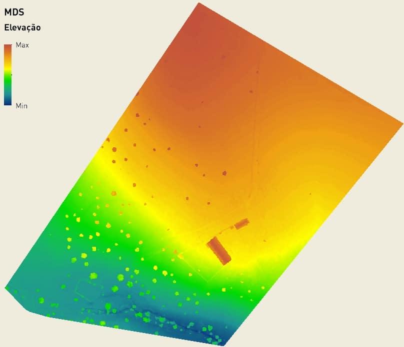 Modelo Digital de Superfície (TIFF)