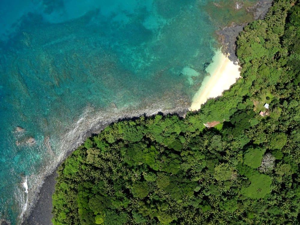 Monitorização costeira na Ilha do Príncipe, São Tomé e Príncipe
